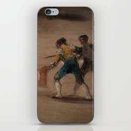 Bullfight in a Divided Ring iPhone Skin