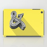 ampersand iPad Cases featuring ampersand by dennis field