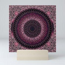 Rosewater Tapestry Mandala Mini Art Print