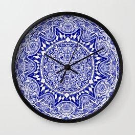 Mehndi Wall Clock