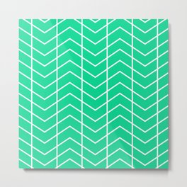MAYA ((emerald green)) Metal Print
