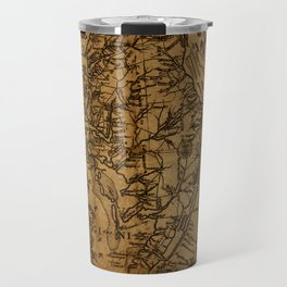 Map of Chesapeake Bay 1774 Travel Mug