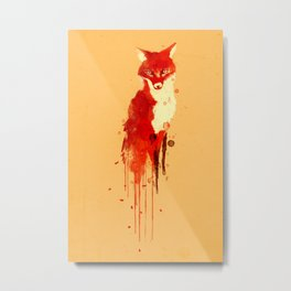 The fox, the forest spirit Metal Print