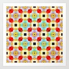Embellecimiento Pattern Art Print