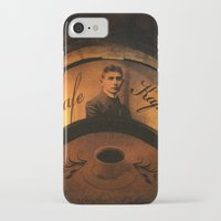 kafka iPhone & iPod Cases featuring Cafe Kafka by Bella Blue Photography