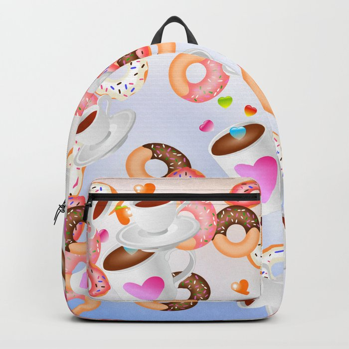 Coffee and Doughnuts En L'air Backpack