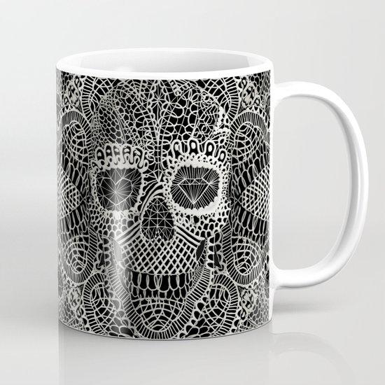 Lace Skull Mug