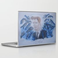 kevin russ Laptop & iPad Skins featuring Kevin Bacon. by TheArtOfFaithAsylum