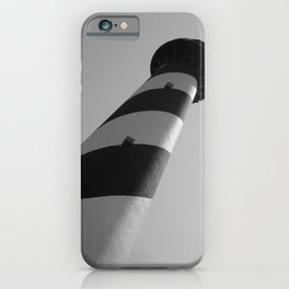 Ocracoke Lighthouse at an Angle iPhone Case