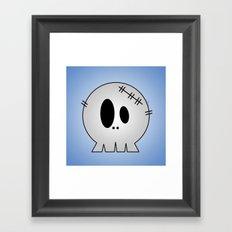 Dead Little Skull Framed Art Print