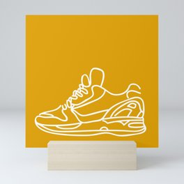 Sneakers Outline #3 Mini Art Print