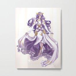 Adrift goddess Metal Print