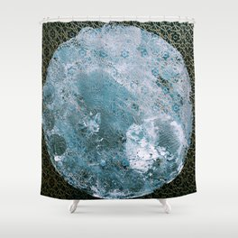 Full Wolf Moon Shower Curtain