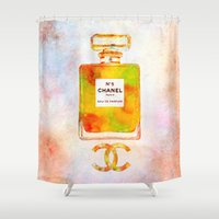 coco Shower Curtains featuring Coco by Alberto Fumora