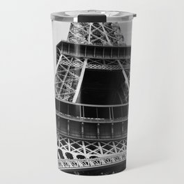 Eiffel Tower // Looking up at the World's Most Famous Monument in Paris France Classic Photograph Travel Mug