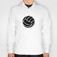 volleyball Hoodies featuring Volleyball Ideology by ideology