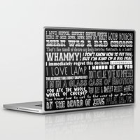 anchorman Laptop & iPad Skins featuring Anchorman Love by Jamizzle