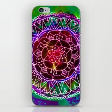 Colorwheel Mandala Purple iPhone & iPod Skin