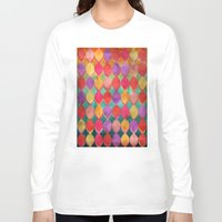 poem Long Sleeve T-shirts featuring Full Colour Poem by micklyn