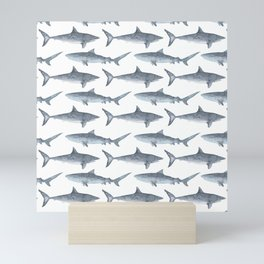 Sharks Mini Art Print