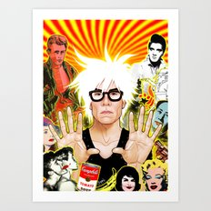 Icon (Warhol) Art Print