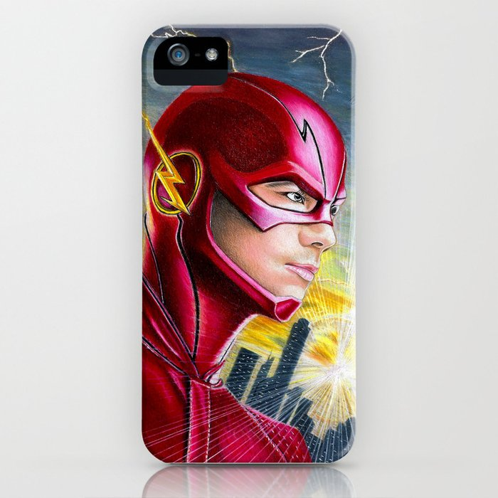 barry allan-the flash iphone case