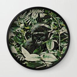 Animal ArtStudio 22516 Gorilla Baby Wall Clock