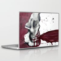 in the flesh Laptop & iPad Skins featuring Flesh Tear by Daniella Walker