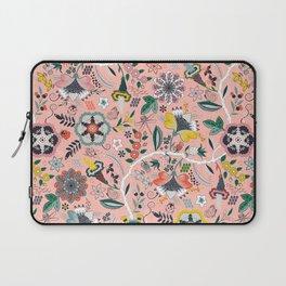 BOHO Chintz (Coral Pink) Laptop Sleeve