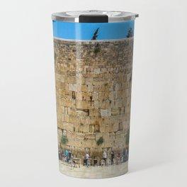 Western Wall Jerusalem, Israel Travel Mug