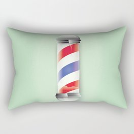 Barbers Shop Rectangular Pillow