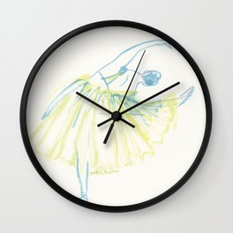 A Ballerina Wall Clock