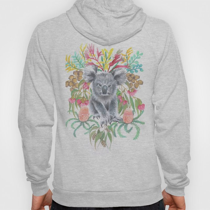 Home Among the Gum leaves Hoody