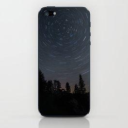 Yosemite Star Trails iPhone Skin