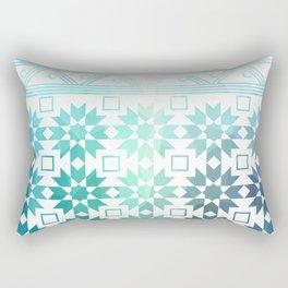 Pre-Columbian-Islamic Fusion Rectangular Pillow