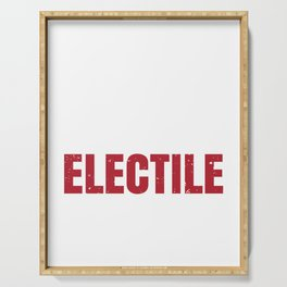 Electile Dysfunction Design Serving Tray