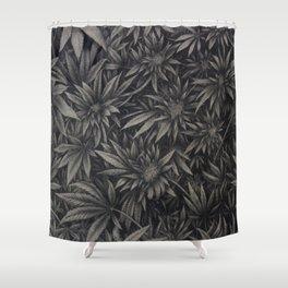 Cannabis Cannopy Shower Curtain