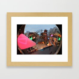 All of the lights Framed Art Print