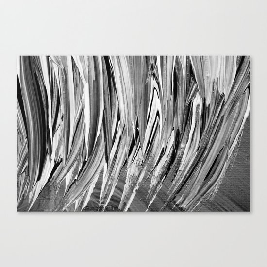 Painted Chaos Canvas Print