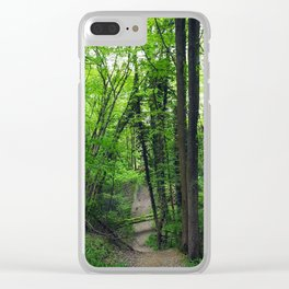 Fresh Greens Clear iPhone Case