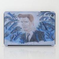 kevin russ iPad Cases featuring Kevin Bacon. by TheArtOfFaithAsylum