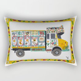 Bangla Truck  Rectangular Pillow