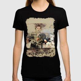 Tony Montana paint art T-shirt
