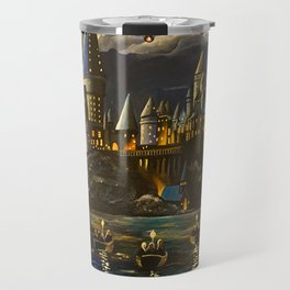 Castel at Starry night Travel Mug