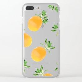 Citrus Paradise Clear iPhone Case