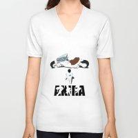 akira V-neck T-shirts featuring Akira by Pocketmoon designs