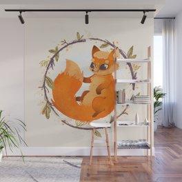 Foxie Wall Mural