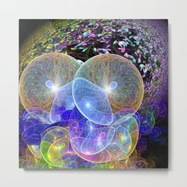 Bubbled Over Metal Print