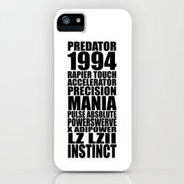 20 Years of Predator iPhone Case
