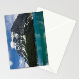 Canadian Rockies and Turquoise Waters Stationery Cards